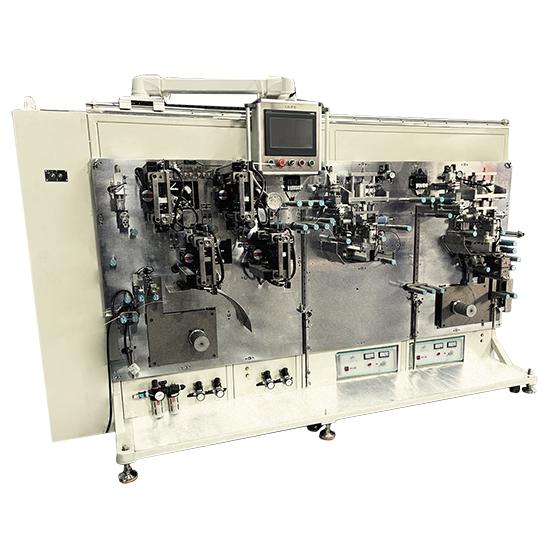 双焊双贴四道胶高速制片机·非标自动化设备定制