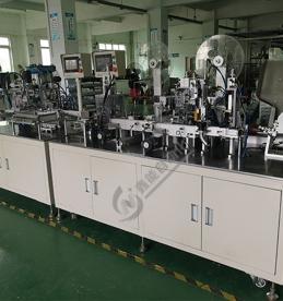 圆柱电芯自动装配生产线